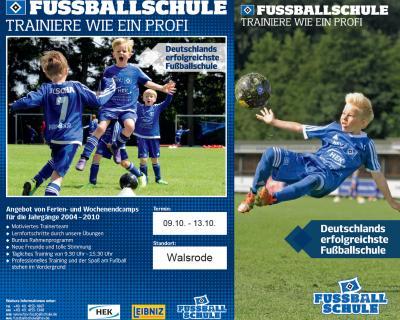 Foto zur Meldung: Trainiere wie ein Profi - die HSV-Fußballschule kommt nach Walsrode !