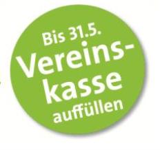 """Foto zur Meldung: Bonusaktion """"Vereinskasse füllen"""" bis 31. Mai 2017"""