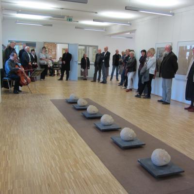 Vorschaubild zur Meldung: Neue Kunstausstellung in der Galerie der Burg eröffnet