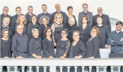 Der Chor Bene Cantare (Foto) tritt zusammen mit dem Ensemble Vocapella Limburg auf. Die Besucher können sich in der Rundkirche auf ansprechende Klänge vom 14. Jahrhundert bis in die Moderne freuen. Foto: Ralph Uenver