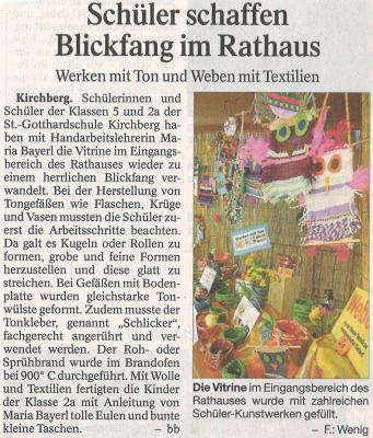 Auszug Der Bayerwald Bote 12.04.2017