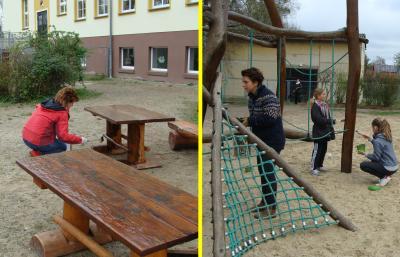 Vorschaubild : Frühjahrsputz in der Grundschule