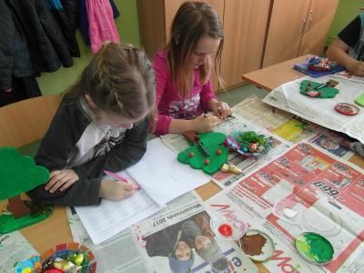 Foto zur Meldung: Frühlingsprojekt in der Grundschule