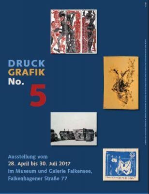"""Foto zu Meldung: Museum lädt in seine Galerie zur Ausstellungseröffnung """"Druckgrafik No. 5"""""""