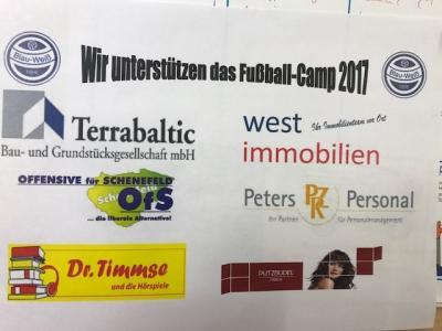 Camp Sponsoren 2017