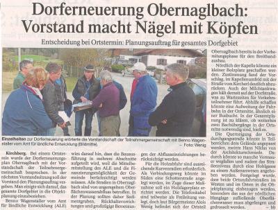 Auszug Der Bayerwald Bote 13.04.2017