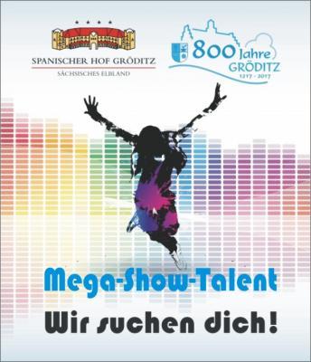 Foto zur Meldung: Werde Mega-Show-Talent 2017
