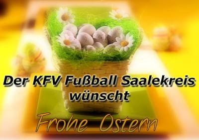 Foto zur Meldung: Der KFV Fußball Saalekreis wünscht frohe Ostern