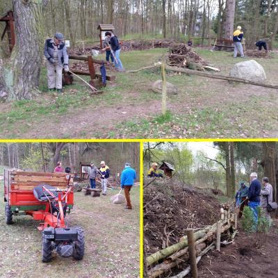 Foto zur Meldung: Erste Aktivität für das Förderprojekt Gemeinde Rehfelde 2017