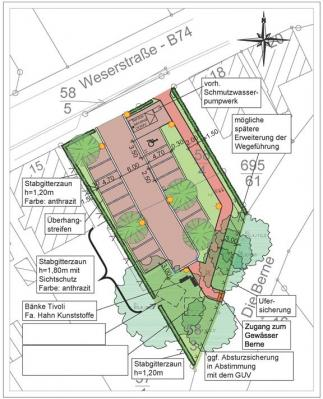 Foto zu Meldung: Baumaßnahme Parkplatz Weserstraße beginnt