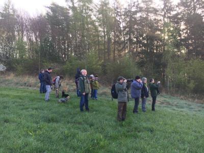 Foto zur Meldung: Fachgruppenexkursion nach Hohengandern