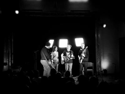 Daniel Green und seine Freunde auf der Offenen Bühne Klingberg
