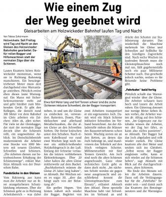 Foto zu Meldung: Wie einem Zug der Weg geebnet wird