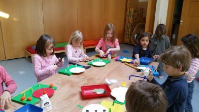 Kindertagesstätte Haberswiesen - Holzwerkstatt April 2017