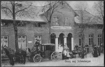 Foto zu Meldung: Vor 110 Jahren: Friedrich Voß kauft den Gasthof