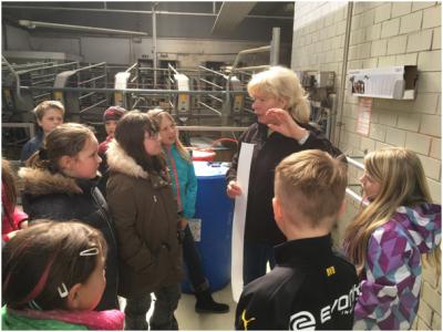 Foto zur Meldung: Projekttag AGW Milch