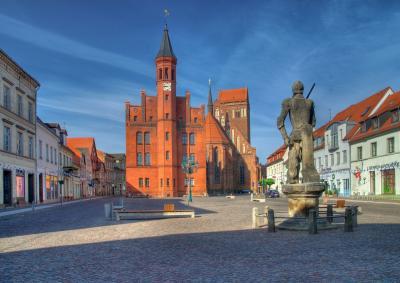 Marktplatz in Perleberg. I Foto: Dieter Zaplo