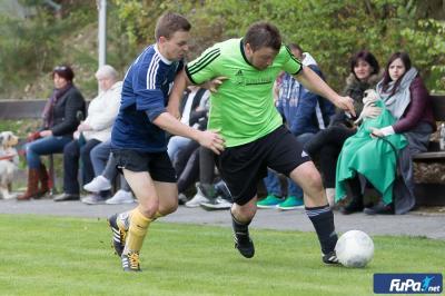 Foto zur Meldung: 3:0-Erfolg in Kirchberg v.W.: SVO festigt Tabellenspitze