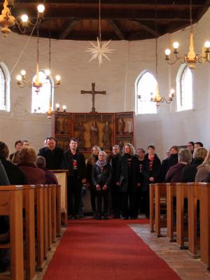 Foto zur Meldung: Gospelkonzert in der Sülstorfer Kirche