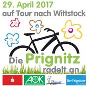 Foto zur Meldung: Anradeln 2017 am 29.4.: Teilnehmer aus Wusterhausen starten in Kyritz