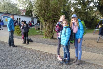 Foto zur Meldung: Osterrally an der Evangelischen Schraden-Grundschule