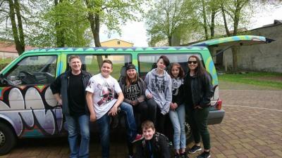 Foto zur Meldung: Jugendclub Ketzin/Havel beim Landesclubrätetreffen in Blossin