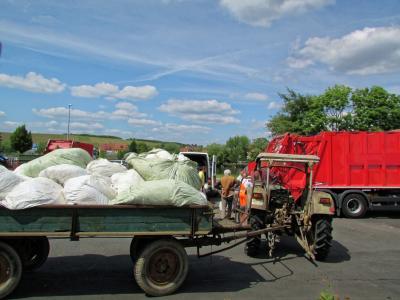 Vorschaubild zur Meldung: Landkreis sammelt Folien und Kunststoffe