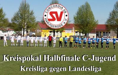 Foto zu Meldung: C-Jugend verliert knapp das Pokalhalbfinale gegen Landesligist Germania Gernrode