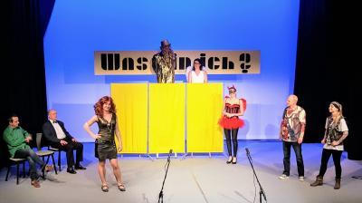 """Foto zur Meldung: Prominente Gäste in ausverkaufter Bühnenshow """"WWW - Was bin ich?"""""""
