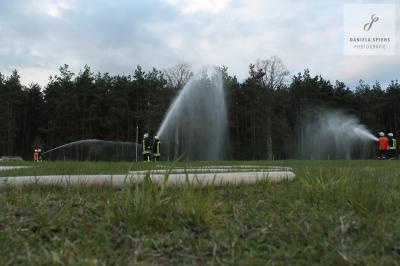 Foto zur Meldung: Übung der drei Gemeindewehren