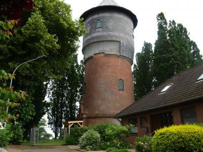 Foto zur Meldung: 100.000 € für den Wasserturm in Krempe