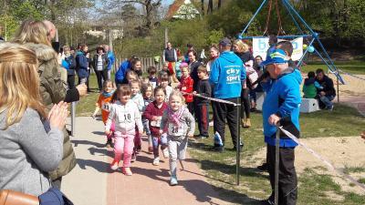 Foto zur Meldung: 2. KITA-Lauf war ein Lauf-Fest