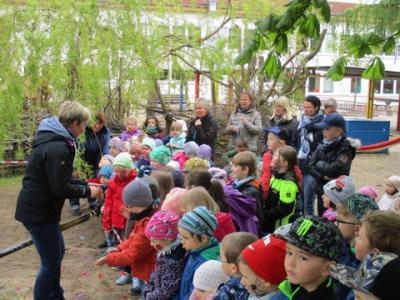 Foto zu Meldung: Frühlingsfest bei den kleinen Füchsen