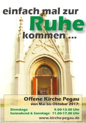 Vorschaubild zur Meldung: Öffnungszeiten Stadtkirche