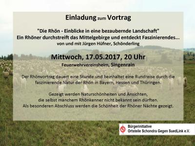 Foto zur Meldung: Einladung zur Bilderreise durch die Rhön am 17.05.2017