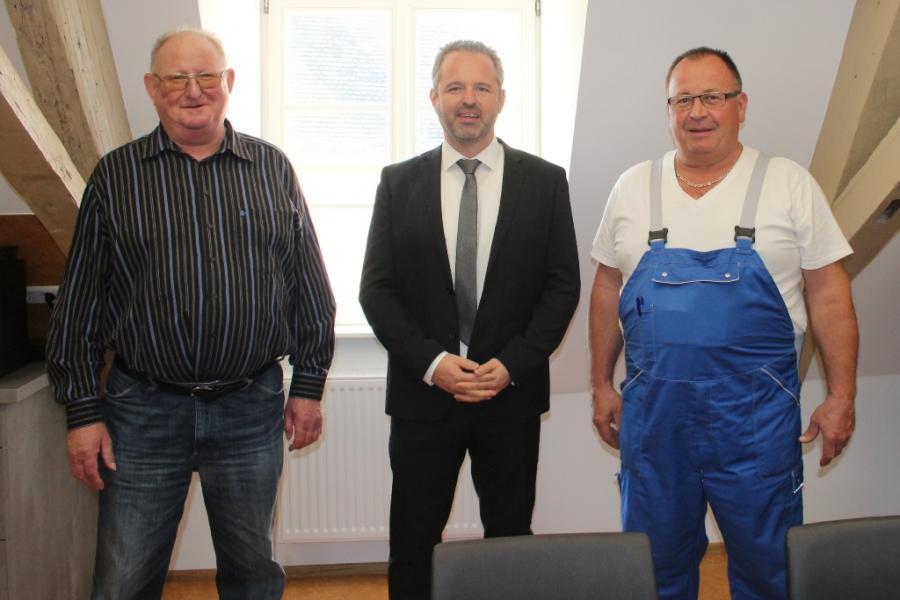 Gemeinde Meckesheim - Verabschiedung des alten Bauhofleiters und ...