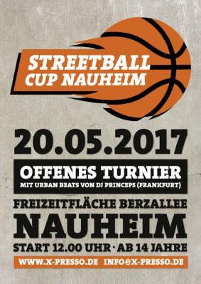 Foto zur Meldung: STREETBALL CUP NAUHEIM 2017