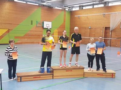 Foto zur Meldung: 24. Badminton Turnier 2017 - Miltenberg