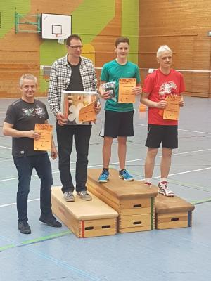 Foto zur Meldung: 24. Badminton Turnier 2017 - Miltenberg Tag 2
