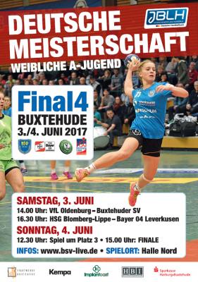 Vorschaubild zur Meldung: 3./4. Juni: Final Four um die Deutsche A-Jugend-Meisterschaft in Buxtehude
