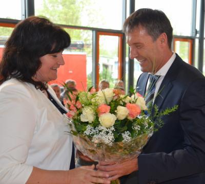 Foto zu Meldung: Runde Sache: Bürgermeister Prietzel feiert Geburtstag