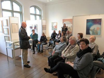 Foto zur Meldung: Bilder der Vernissage zur 40.Ausstellung