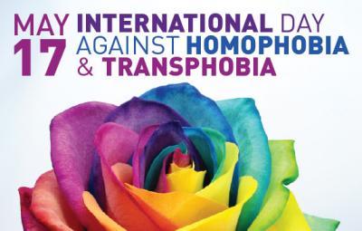 Vorschaubild zur Meldung: Internationaler Tag gegen Homo- und Transphobie am 17.Mai
