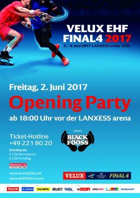 Vorschaubild zur Meldung: Freikarten VELUX EHF FINAL4 Opening Party