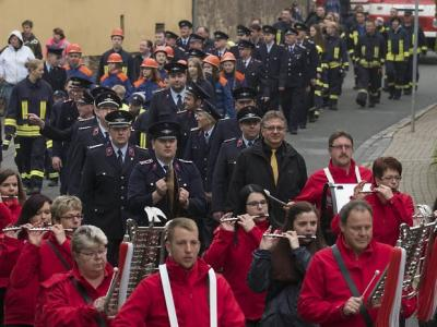 Foto zu Meldung: Jubiläumsveranstaltung der Ortsfeuerwehr Meisdorf