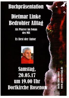Vorschaubild zur Meldung: Lesung mit Dietmar Linke