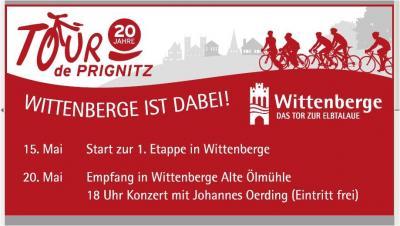 Vorschaubild zur Meldung: Mitradeln bei der 20. Tour de Prignitz am Montag, 15. Mai!