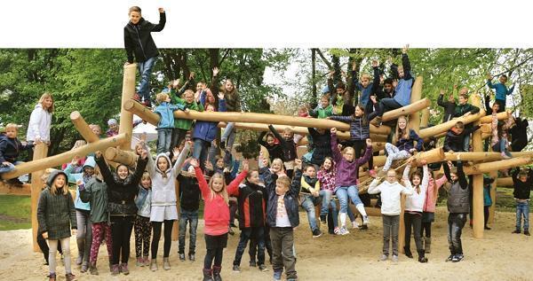 Klettergerüst Schulhof : Marienschule strücklingen so wird der schulhof zum