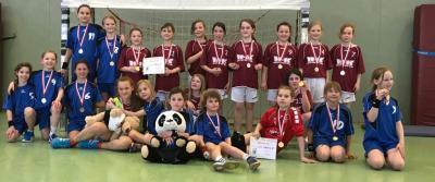 """Foto zur Meldung: E-Jugend: Handball-Nachwuchs - Zwei Teams des HSV 04 beim """"Zwergen-Cup"""" in Potsdam"""