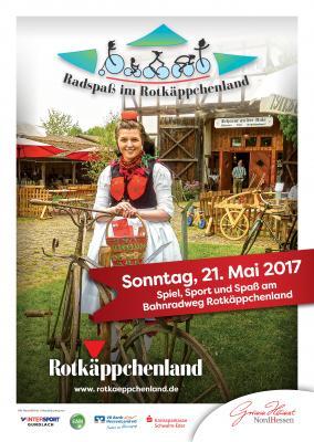 Vorschaubild zur Meldung: Radspaß im Rotkäppchenland am 21. Mai 2017